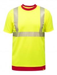 UV T-Shirt Rettungsdienst S-K2 gelb Hochsichtbar