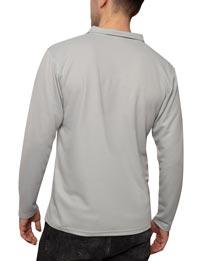 IQ-UV-Schutz-Polo-Langarm-Sonnenschutz-grau-backQrBLRA1mpTD45