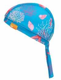 UV-Schutz Kopftuch Korallen